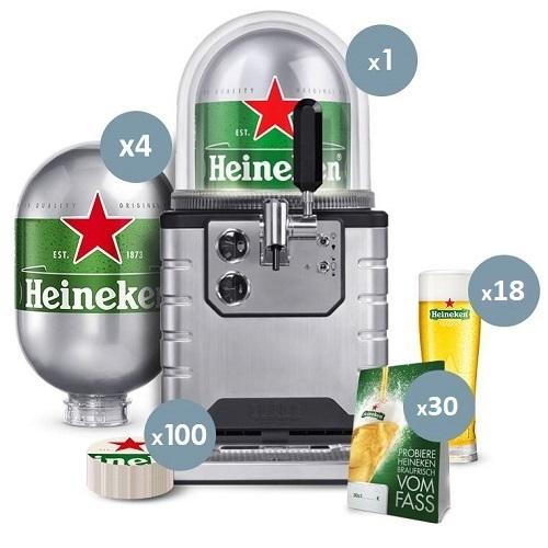 Bundle Impianto Blade + 4 Fusti Heineken + Kit Starter • Kalsa.Store 458479ee7ad7