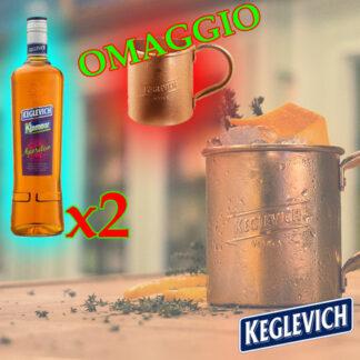 Keglevich Klamour + Tazza in Rame