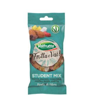 Frutta secca Student mix Valfrutta g 25 (ricarica)