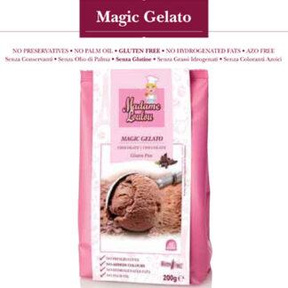 Preparato per Gelato cioccolato g 200 Madame Loulou Senza Glutine