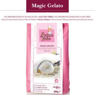 Preparato per Gelato vaniglia g 200 Madame Loulou Senza Glutine