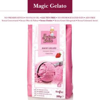 Preparato per Gelato fragola g 200 Madame Loulou Senza Glutine