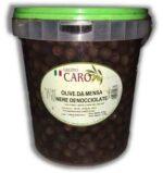Olive Caro denocciolate nera kg 4