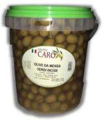 Olive Caro Verdi Incise Kg 5